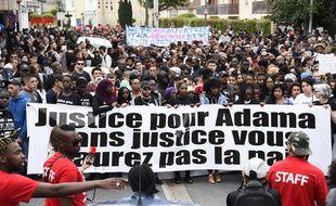Des gendarmes ont été blessés après la marche organisée en mémoire d'Adama Traoré.