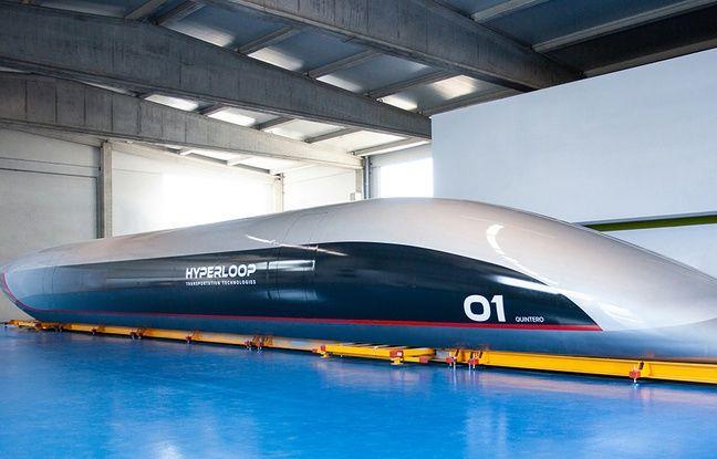 VIDEO. Toulouse: La capsule passagers du projet Hyperloop TT vient d'arriver pour être testée