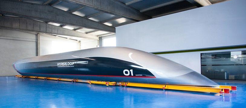 La première capsule Hyperloop grandeur nature a été dévoilée ce mardi en Espagne.