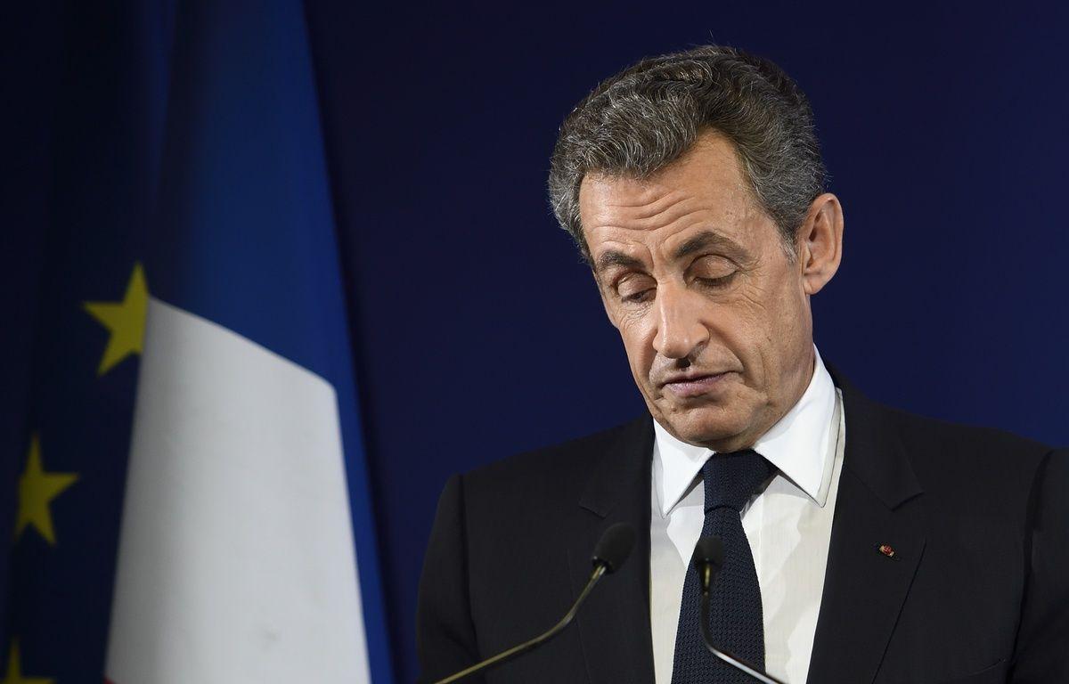Nicolas Sarkozy , le 20 novembre 2016 à Paris.  – Eric FEFERBERG / AFP