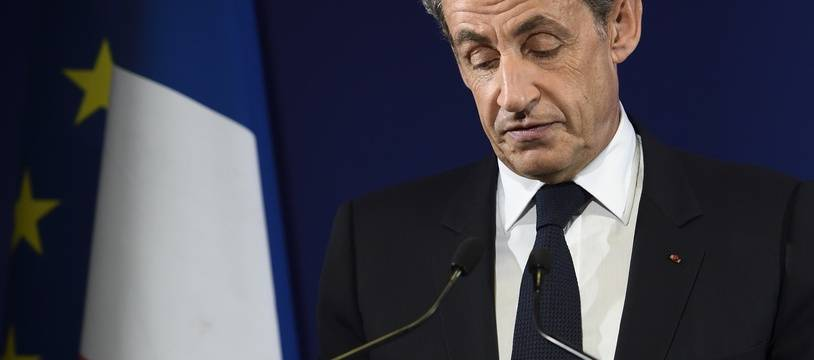 Nicolas Sarkozy , le 20 novembre 2016 à Paris.