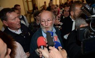 Jean-Claude Mas à la sortie de son procès en appel le 2 mai 2016.