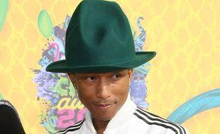 Pharrell Williams, le 29 mars 2014, à Los Angeles.