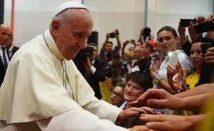 Le pape François à Sarajevo le 6 juin 2015