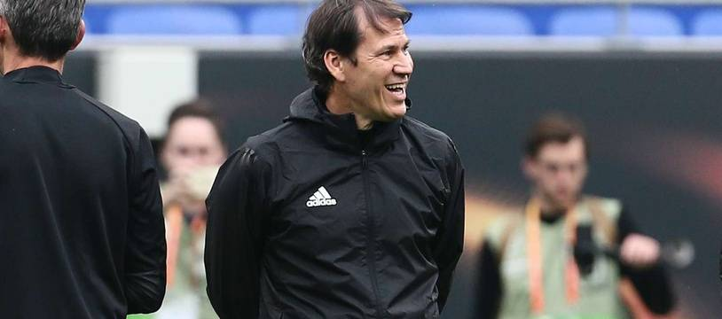 Rudi Garcia est content.