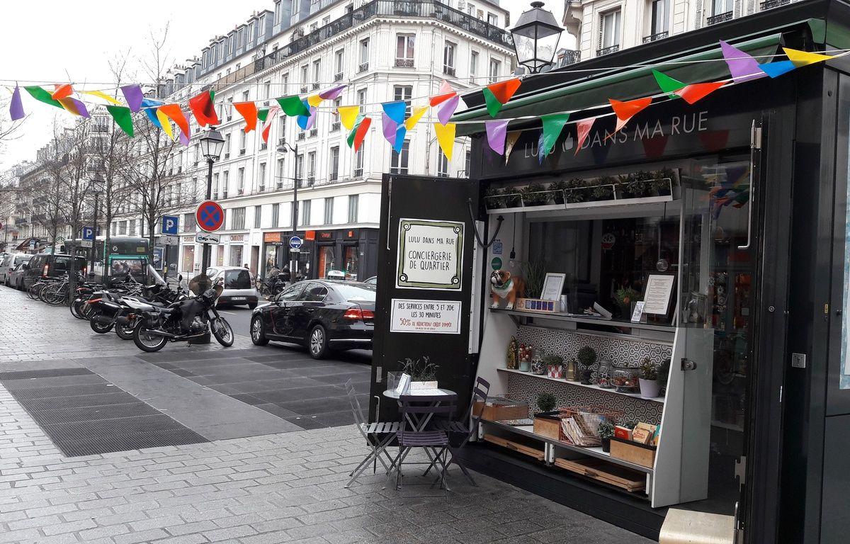Lulu dans ma rue a démarré en avril 2015 d'un kiosque de la place Saint-Paul dans le Marais. – F. Pouliquen / 20 Minutes