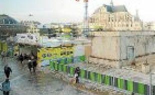 Le chantier durera jusqu'en 2015.