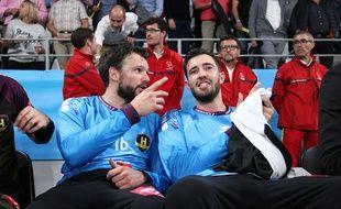 Arnaud Siffert et Cyril Dumoulin.