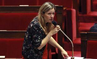 La députée Yael Braun-Pivet (LREM) à l'Assemblée.