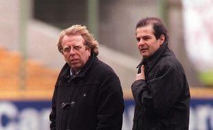 Claude Leroy (à gauche) et Patrick Proisy.