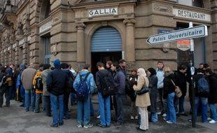Strasbourg: Une application pour éviter les files d'attente dans les restaurants universitaires (Archives)