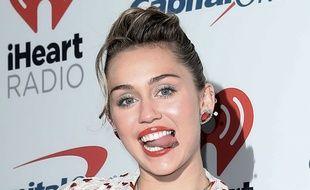 La chanteuse Miley Cyrus au iHeartRadio Music Festival