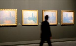 Près de 200 tableaux de Claude Monet ont été exposés jusqu'en janvier 2011 au Grand Palais.