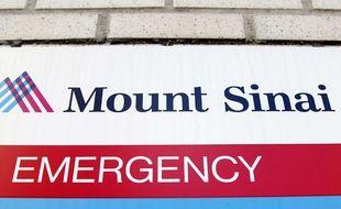 Hôpital Mont Sinai à New York où est hospitalisé le patient présentant des symptômes similaires à ceux du virus Ebola.