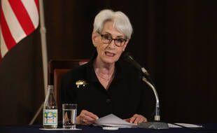 Wendy Sherman, l'actuelle numéro deux du département d'Etat américain