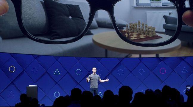 Mark Zuckerberg lors de la conférence F8, le 18 avril 2017. –  Noah Berger/AP/SIPA