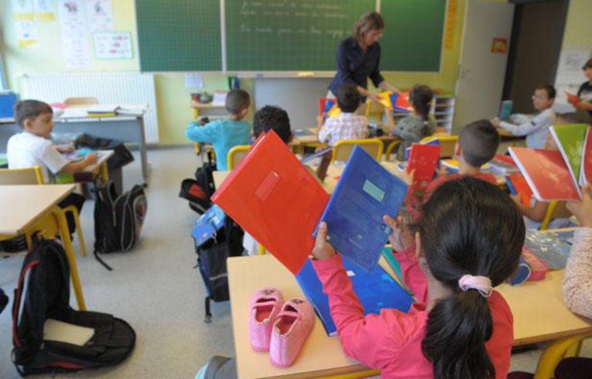 Dans une classe de maternelle à Strasbourg.  – G. VARELA / 20 MINUTES