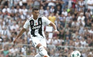Cristiano Ronaldo avec la Juve
