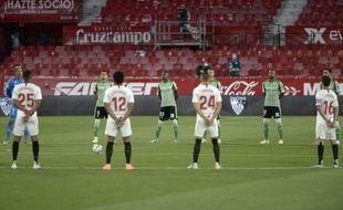 Un joueur du Séville FC a été testé positif au Covid-19.
