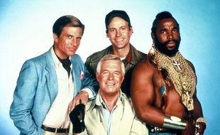 Les quatre larrons de L'agence tous risques en 1984