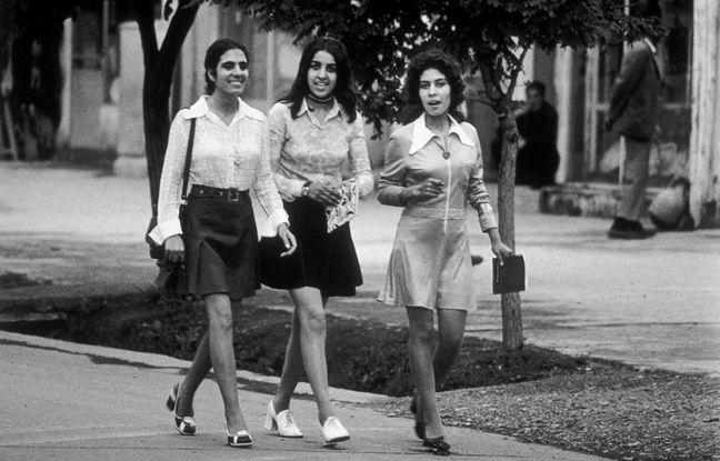 Des étudiantes à Kaboul dans les années 1972.