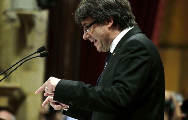 nouvel ordre mondial   Catalogne: Puigdemont, le président indépendantiste, «suspend» son allocution sans explication