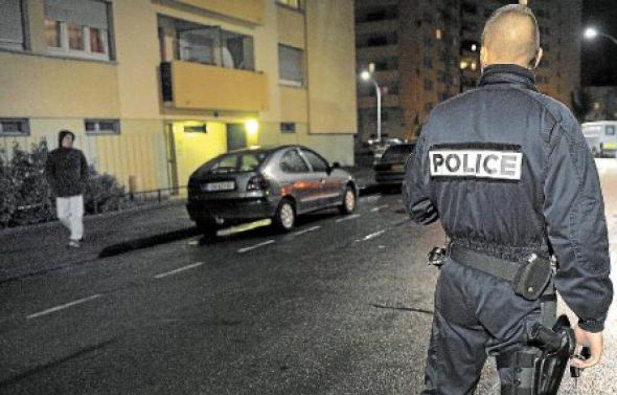 Le classement en ZSP risque de tendre une situation compliquée pour la police, déjà très présente au Neuhof. –  Archives g. varela / 20minutes