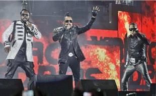 Les Black Eyed Peas, n'ont pas donné de concert en France depuis 2011.