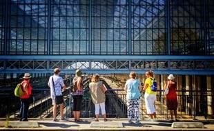 Visite de la gare Saint-Jean à Bordeaux par l'association L'Alternative Urbaine.