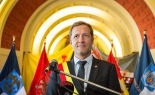 Paul Magnette, le ministre-président socialiste de la Wallonie (Belgique).