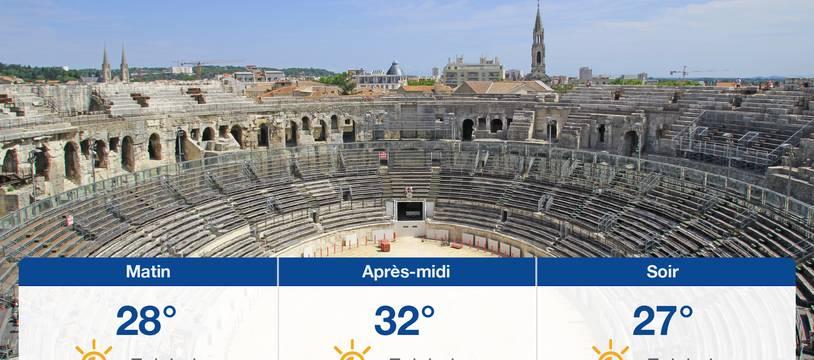 Météo Nîmes: Prévisions du jeudi 29 juillet 2021