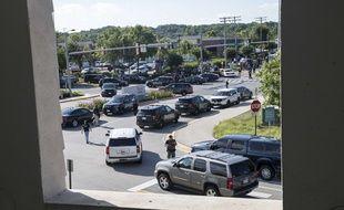 Un tireur abat cinq personnes dans un journal du Maryland, aux Etats-Unis.