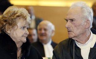 L'ex-électricien de Picasso, Pierre Le Guennec et sa femme au tribunal de Grasse, le 10 février 2015