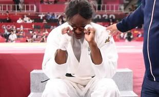 Madeleine Malonga était inconsolable après la finale perdue.