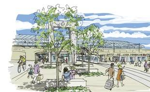 L'accès à la gare de Perrache va être simplifié et modernisé d'ici à 2019, à Lyon.