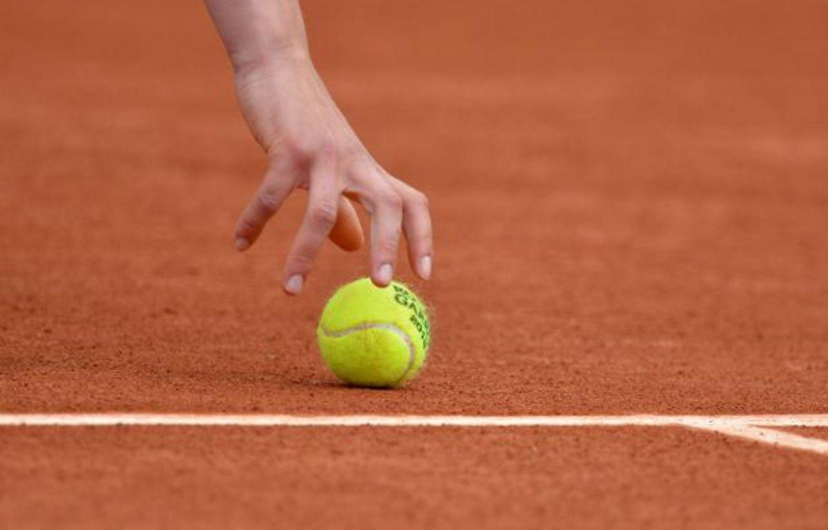 Balle de tennis. Photo d'illustration. – MYSTY/SIPA