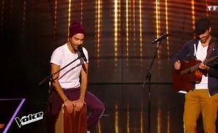 Les Twin Phoenix, dans l'émission «The Voice».