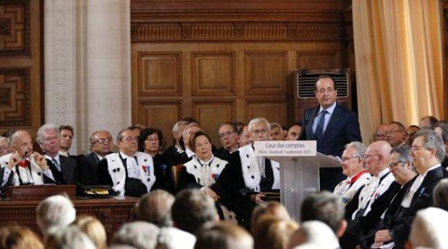 François Hollande devant la Cour des comptes le 7 septembre 2012. – Pierre Verdy/Pool/AFP