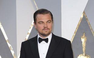 L'acteur Leonardo DiCaprio aux Oscars