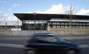 Le collège d'Orgères, près de Rennes, le 31 mars 2015