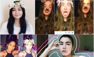 Les nouveaux filtres Snapchat