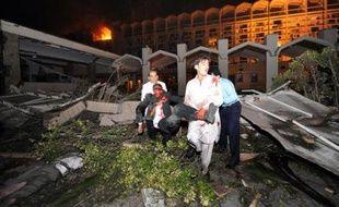 L'attentat à Islamabad, devant l'hôtel Marriott, le 20 septembre 2008