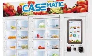 Un distributeur automatique de produits fermiers