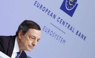 Mario Dragi, président de la Banque Centrale Européenne