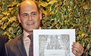 Matthew Weiner a reçu cette semaine la grande médaille de Vermeil de la Ville de Paris.