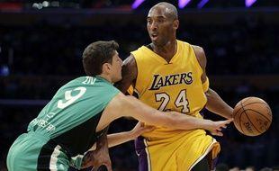 Kobe Bryant face au Maccabi Haïfa
