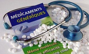 Illustration: Des médicaments génériques.