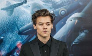 Le chanteur et acteur Harry Styles à la première de