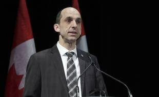 Steven Blaney, le ministre canadien de la Sécurité publique, à Montréal, le 3 février 2014.