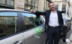 Etienne Hermite, directeur général de Zipcar France.